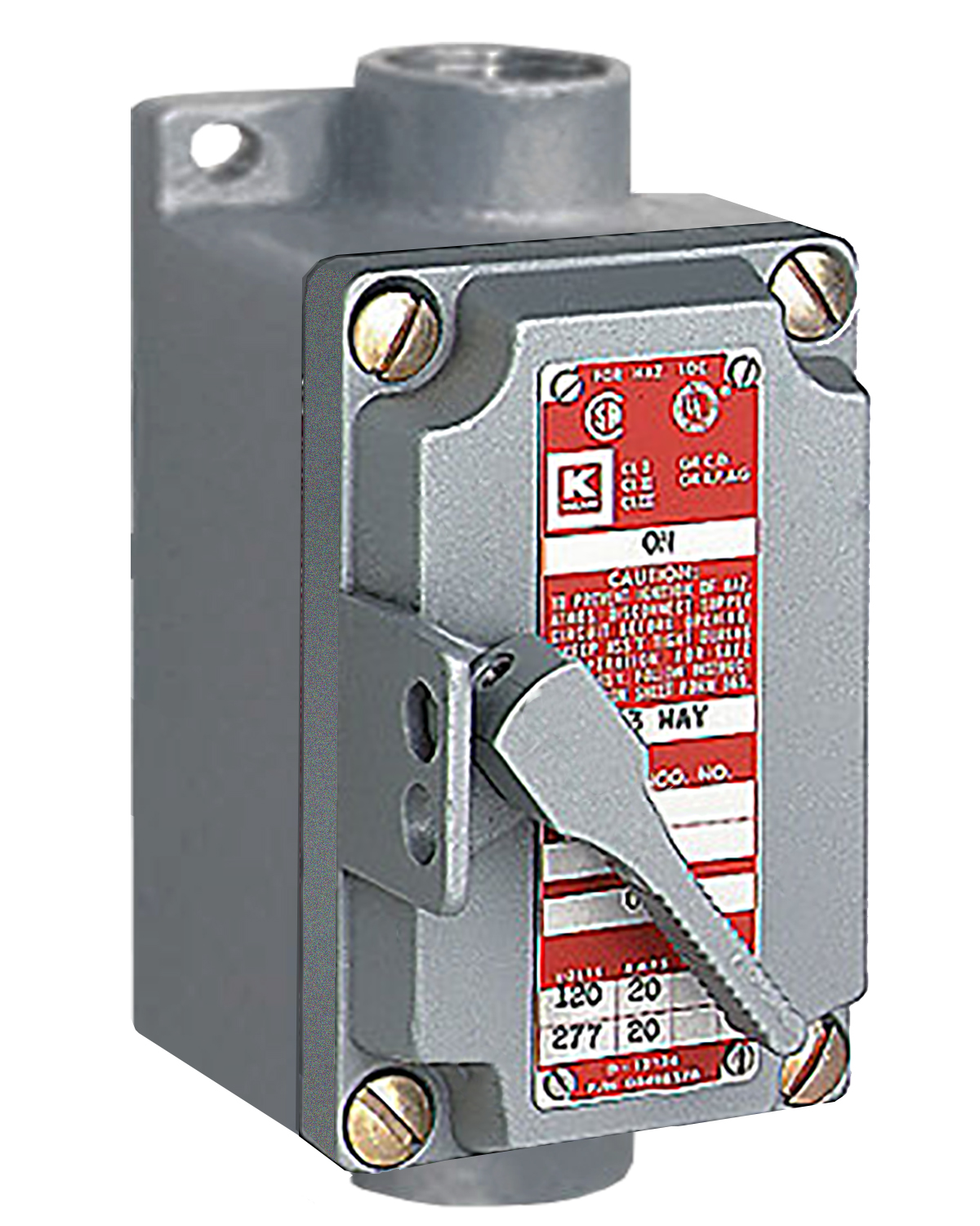 Laboratory electrical services for Class 1 div 2 motor disconnect switch