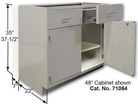 UniLine Laboratory Furniture - Lab storage cabinets
